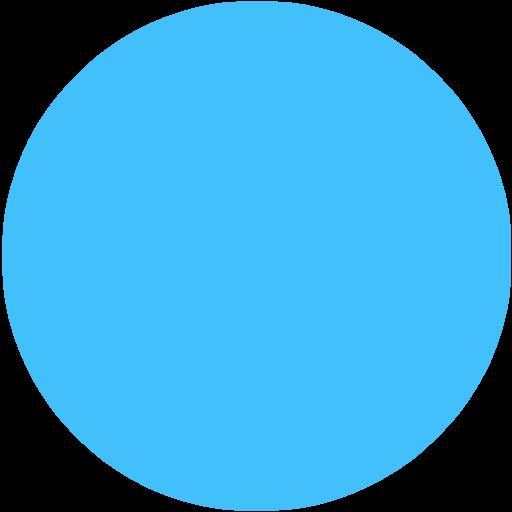 Blue Circle Png