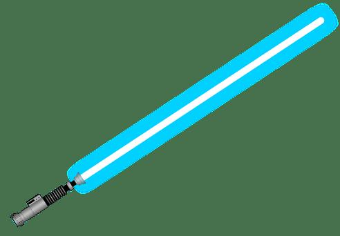 Blue Lightsaber Png