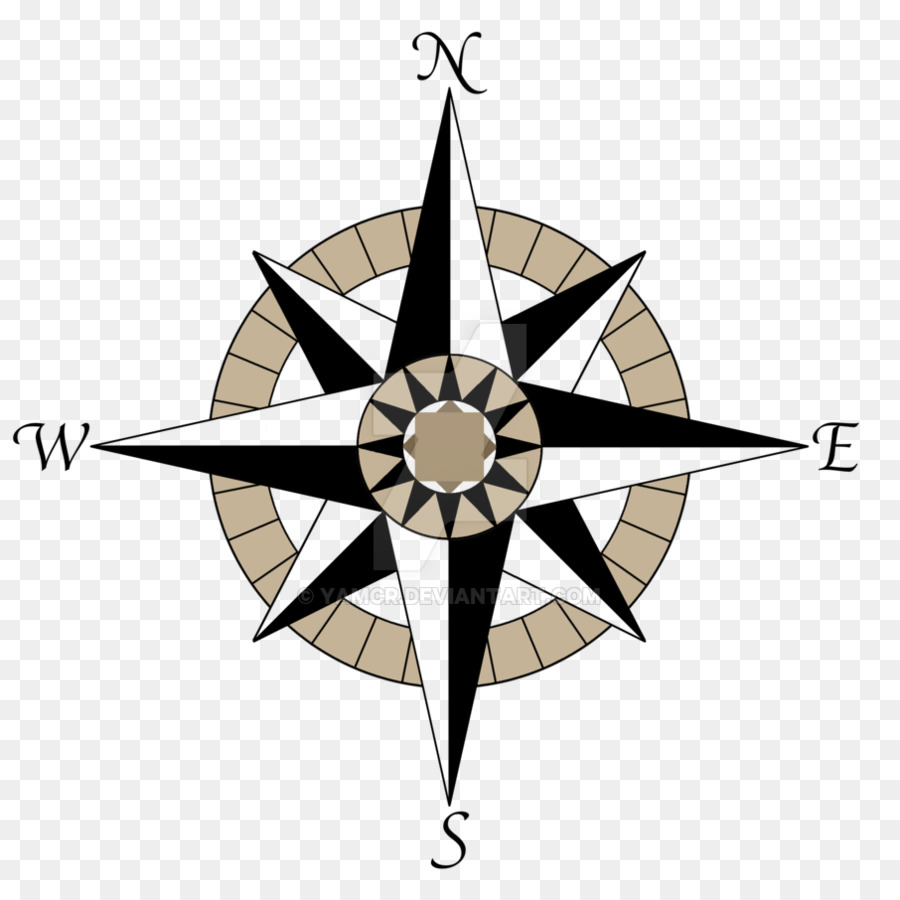 Compass Rose Logo No Background