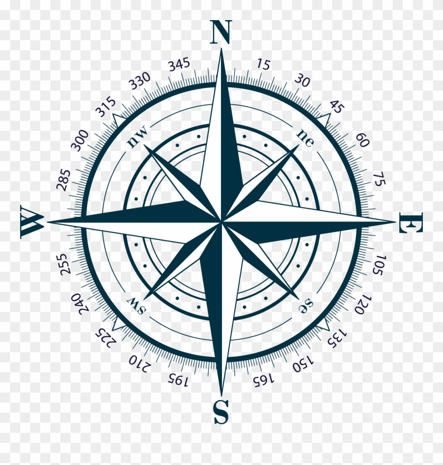 Compass Rose Png Transparent Background 2020