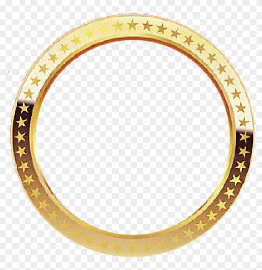 Gold Circle Png