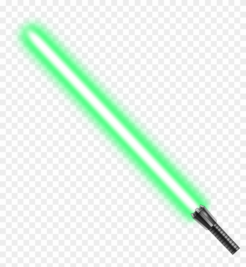 Green Lightsaber Png
