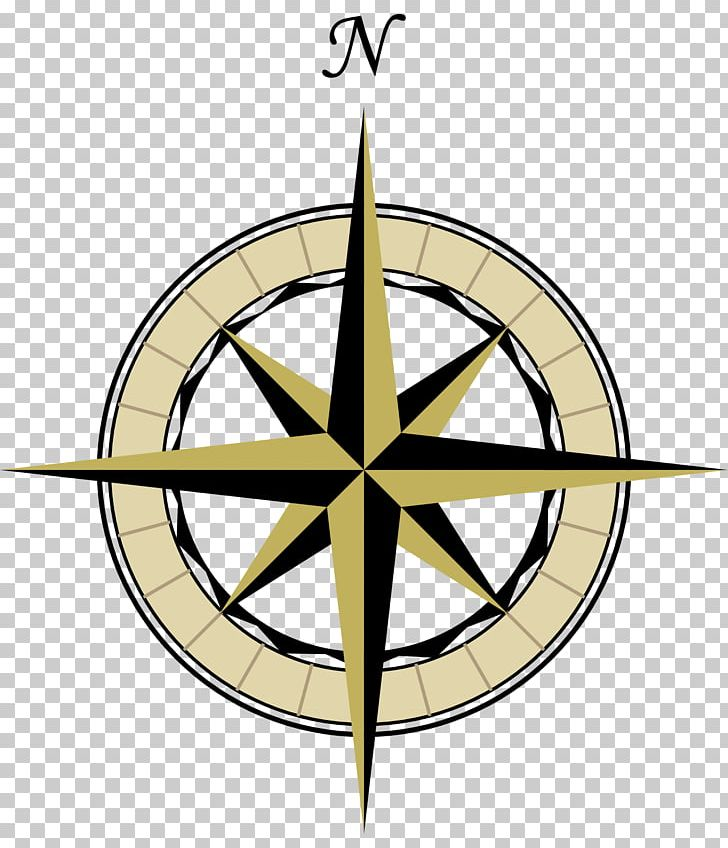 Map Compass Rose Png