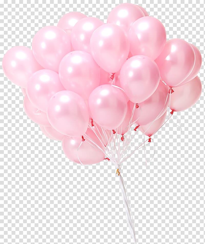 Pink Balloons Png