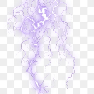 Purple Lightning Png