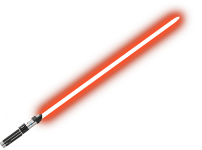Red Lightsaber Png