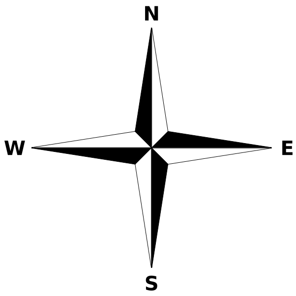 Simple Compass Rose Png