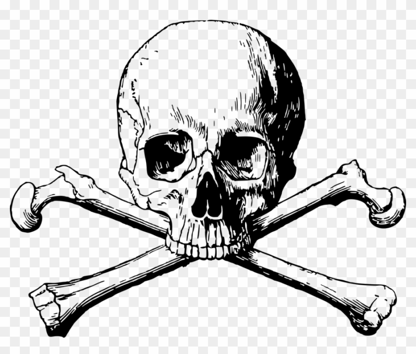 Skull and Crossbones Png Transparent Background 2019